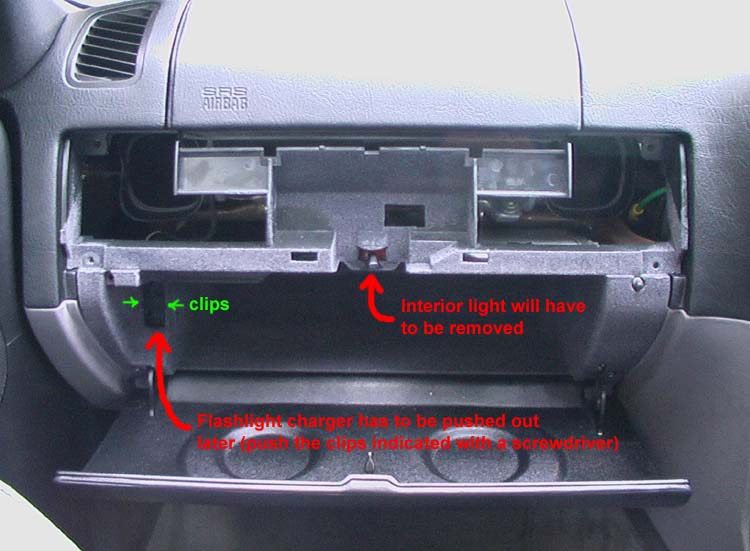 Bmw E36 Remove Glove Box Door