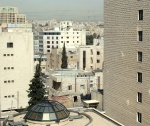 From my hotel window at Intercontinental hotel in Amman, great hotel by the way!