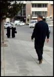 Odd walking in the street in Amman